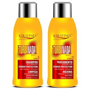 Escova Progressiva Turbinada Keratinex 2x300ml