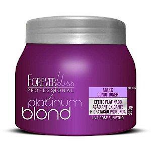 Forever Liss Platinum Blond Máscara Matizadora - 250gr