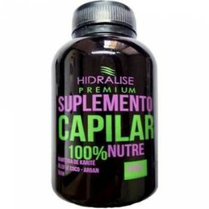Suplemento Capilar 100% Nutrição Hidra Lise