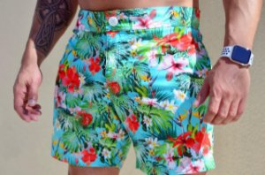 Short Masculino Floral