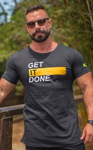 Camiseta Masculina LongLine Masculina