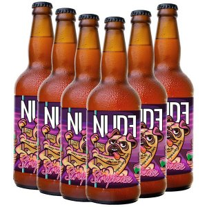 Cerveja Nude Sraptease, Pack 06 Unidades