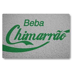 Tapete Capacho Beba Chimarrao - Prata
