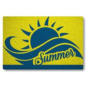 Tapete Capacho Summer - Amarelo