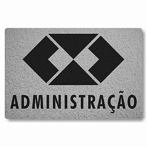 Tapete Capacho Administracao - Prata