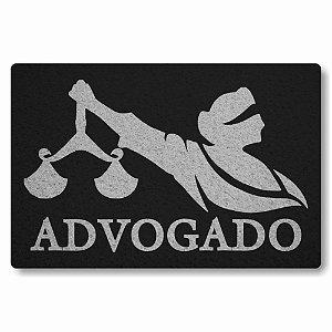Tapete Capacho Advogado 2 - Preto