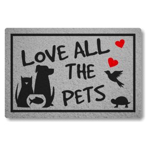 Capacho Linha Tapets Love All The Pets