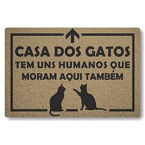 Capacho Linha Tapets Casa dos Gatos