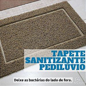 Tapete Capacho de Vinil Sanitizante Pedilúvio
