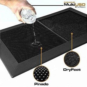 Capacho MultiUSO KIT Sanitizante Pinado - DryFeet - Bandeja