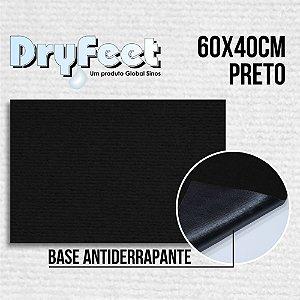 Tapete DryFeet Preto 60x40cm
