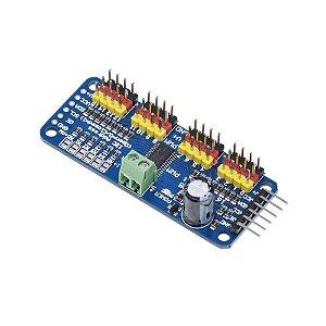 Módulo para Servo Motor PWM PCA9685 16 canais I2C