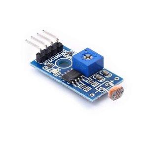 Módulo Sensor de Luz LDR 4 Pinos