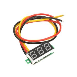 Mini Voltímetro Digital LED 0.28pol Com Remote