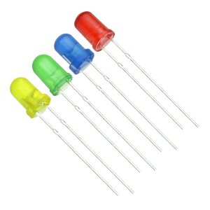 LED Difuso 5mm Diversas Cores
