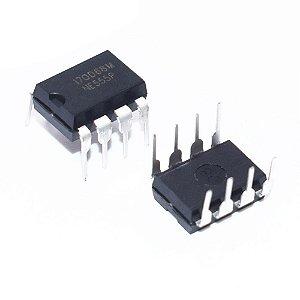 NE555 – CI Temporizador Multivibrador
