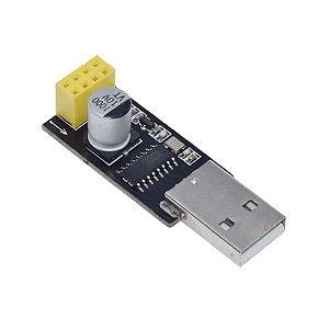 Adaptador USB Serial para Módulo WiFi ESP-01