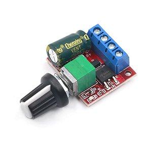 Módulo PWM Controlador De Velocidade Motor DC