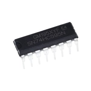 CI 74HC595 Shift Register Expansor de Portas I/O