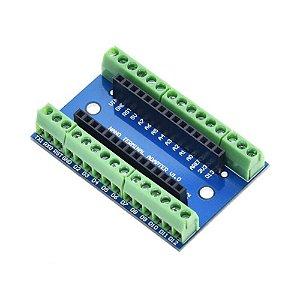 Shield para Arduino Nano Adaptador com Bornes