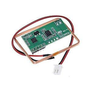 Leitor RFID RDM6300 125KHz + Tag chaveiro