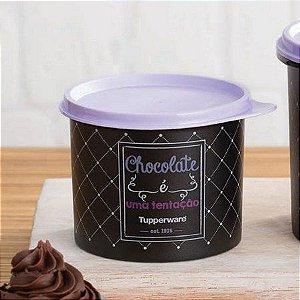 Tupperware Tupper Redondinha Bistrô Chocolate 500 ml