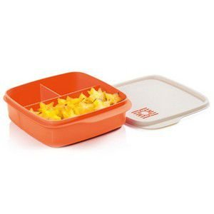 Tupperware Basic Line com Divisórias Sol 550 ml