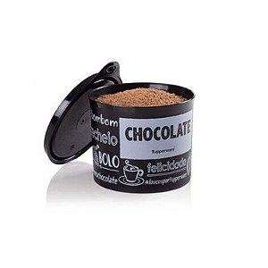 Tupperware Tupper Redondinha Chocolate PB FUN