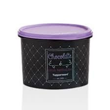 Tupperware Tupper Redondinha Chocolate