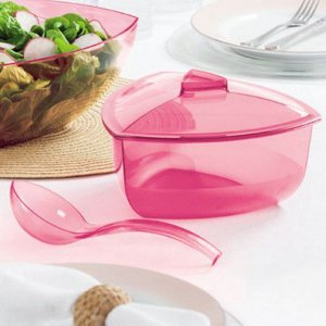 Tupperware Tigela 2,2 Litros Lotus Com Concha