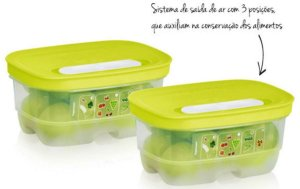 Tupperware Ventsmart Retangular-375ml