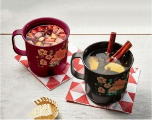 Tupperware Kit Canecas Vinho Quente e Quentão 350ml