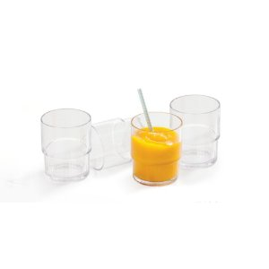 Tupperware Kit 4 Copos Premier 295ml