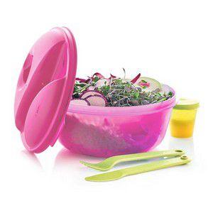 Tupperware Marmitup Salad 1 Litro Rosa