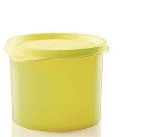 Tupper Redondinha Amarela 500 ml