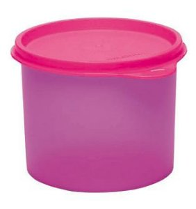Tupperware Tupper Redondinha Rosa 500 ml