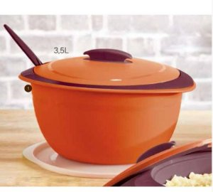 Tupperware Tigela Thermo 3,5 Litros Laranja
