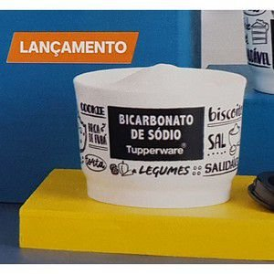 Tupperware Potinho PB Bicarbonato de Sódio 140ml