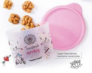 Tupperware Tupper Redondinha Amor 500 ml