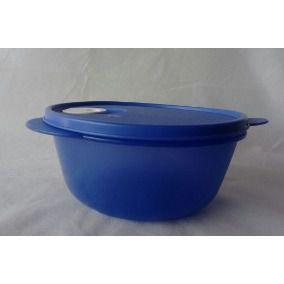 Tupperware Cristalwave Azul  Geração II 1 Litro
