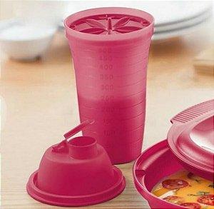 Tupperware Quick Shake II 500ml Vermelho