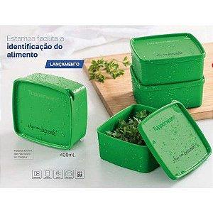 Tupperware Conjunto 4 Jeitosinho Cheiro Verde 400 ml