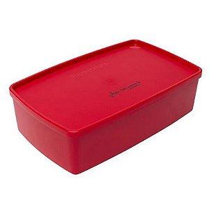 """Tupperware Caixa Ideal 1,4 Litros """"Aqui tem Carne"""""""