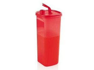 Tupperware Tupper Slim 2 Litros Vermelha