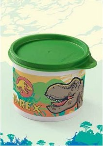 Tupperware Tupper Redondinha Jurassic World 500 ml