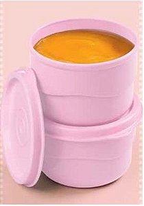 Tupperware Conjunto com 2 Potinhos Rosas 110 ml