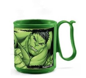 Tupperware Caneca Hulk 280 ml