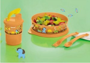 Tupperware Conjunto Baby Safari