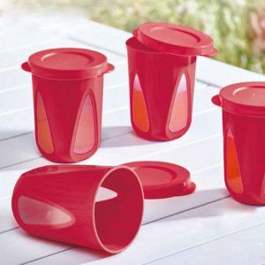 Tupperware Conjunto com 2 Copos Outdoor 330 ml