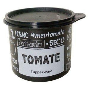 Tupperware Tupper Redondinha PB FUN Tomate 500 ml